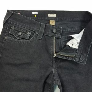 True Religion Ricky Relaxed Straight Flap Jeans